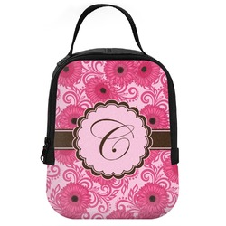 Gerbera Daisy Neoprene Lunch Tote (Personalized)