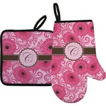 Gerbera Daisy Oven Mitt & Pot Holder (Personalized)