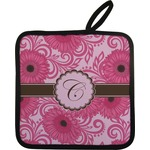 Gerbera Daisy Pot Holder (Personalized)