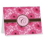 Gerbera Daisy Note cards (Personalized)