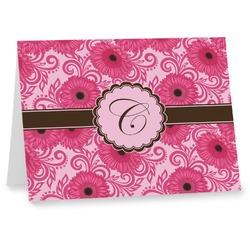 Gerbera Daisy Notecards (Personalized)