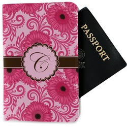 Gerbera Daisy Passport Holder - Fabric (Personalized)