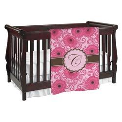 Gerbera Daisy Baby Blanket (Personalized)