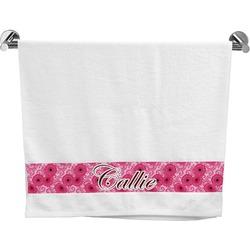 Gerbera Daisy Bath Towel (Personalized)