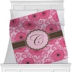 Gerbera Daisy Minky Blanket (Personalized)