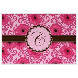 Gerbera Daisy Placemat (Laminated) (Personalized)