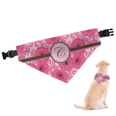 Gerbera Daisy Dog Bandana (Personalized)