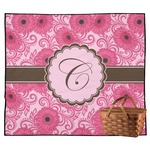 Gerbera Daisy Outdoor Picnic Blanket (Personalized)