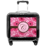 Gerbera Daisy Pilot / Flight Suitcase (Personalized)