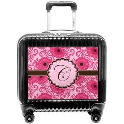 Gerbera Daisy Pilot / Flight Suitcase (Personalized)
