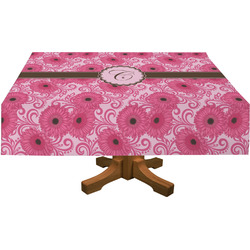 "Gerbera Daisy Tablecloth - 58""x102"" (Personalized)"