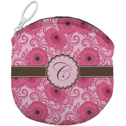 Gerbera Daisy Round Coin Purse (Personalized)