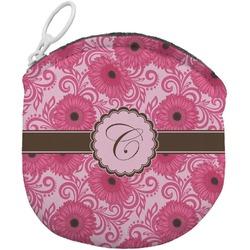 Gerbera Daisy Round Coin Purse (Personalized)