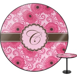 Gerbera Daisy Round Table (Personalized)