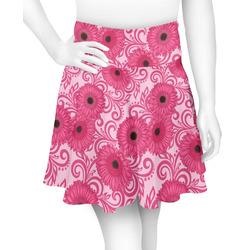 Gerbera Daisy Skater Skirt (Personalized)