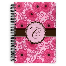 Gerbera Daisy Spiral Bound Notebook (Personalized)