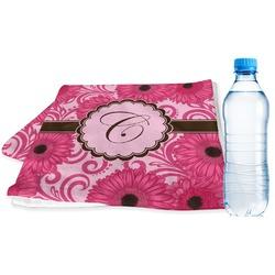 Gerbera Daisy Sports Towel (Personalized)
