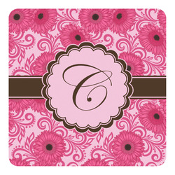 Gerbera Daisy Square Decal - Custom Size (Personalized)
