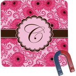 Gerbera Daisy Square Fridge Magnet (Personalized)