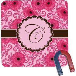 Gerbera Daisy Square Fridge Magnet (Personalized)