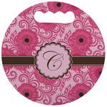 Gerbera Daisy Stadium Cushion (Round) (Personalized)