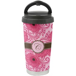 Gerbera Daisy Stainless Steel Coffee Tumbler (Personalized)