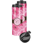 Gerbera Daisy Stainless Steel Skinny Tumbler (Personalized)