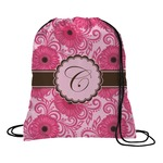 Gerbera Daisy Drawstring Backpack (Personalized)