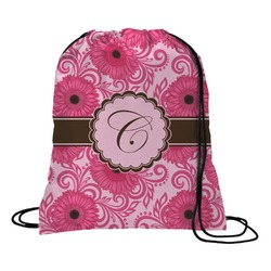 Gerbera Daisy Drawstring Backpack (Personalized)