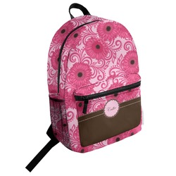 Gerbera Daisy Student Backpack (Personalized)