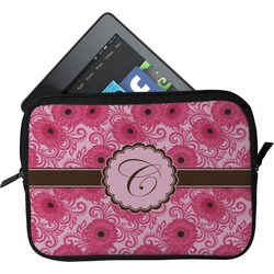 Gerbera Daisy Tablet Case / Sleeve - Small (Personalized)