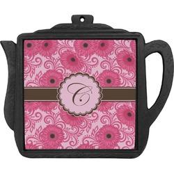 Gerbera Daisy Teapot Trivet (Personalized)