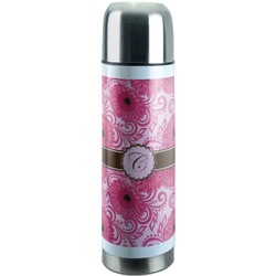 Gerbera Daisy Stainless Steel Thermos (Personalized)