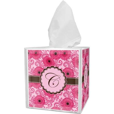 Gerbera Daisy Tissue Box Cover (Personalized)