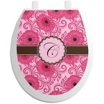 Gerbera Daisy Toilet Seat Decal (Personalized)
