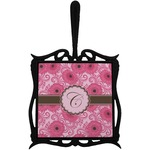 Gerbera Daisy Trivet with Handle (Personalized)