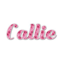 Gerbera Daisy Name/Text Decal - Custom Sized (Personalized)