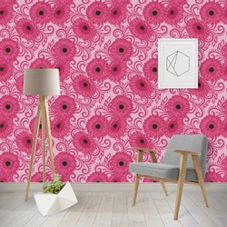 Gerbera Daisy Wallpaper & Surface Covering