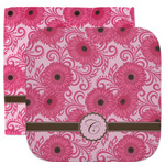 Gerbera Daisy Facecloth / Wash Cloth (Personalized)