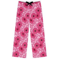 Gerbera Daisy Womens Pajama Pants (Personalized)