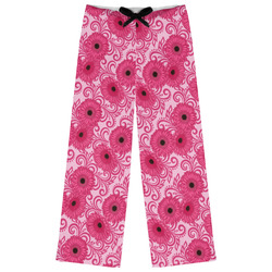 Gerbera Daisy Womens Pajama Pants - XL (Personalized)