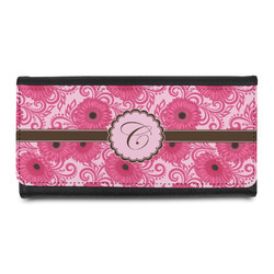 Gerbera Daisy Leatherette Ladies Wallet (Personalized)