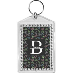 Video Game Bling Keychain (Personalized)