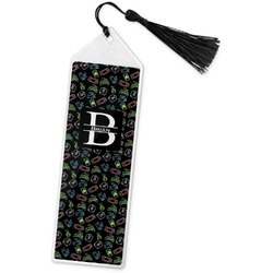 Video Game Book Mark w/Tassel (Personalized)
