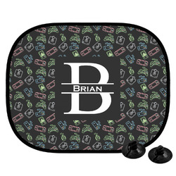 Video Game Car Side Window Sun Shade (Personalized)