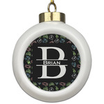 Video Game Ceramic Ball Ornament (Personalized)