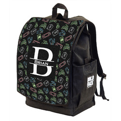 Video Game Backpack w/ Front Flap (Personalized)