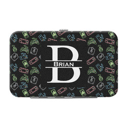 Video Game Genuine Leather Small Framed Wallet (Personalized)