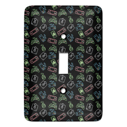 Video Game Light Switch Cover (Single Toggle) (Personalized)