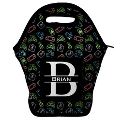 Video Game Lunch Bag w/ Name and Initial